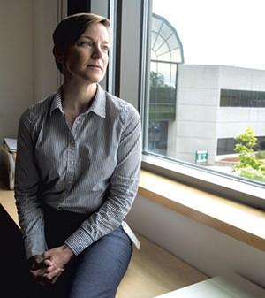 Helen Reid, Acting director, Vermont Department of Health Laboratory - JAMES BUCK