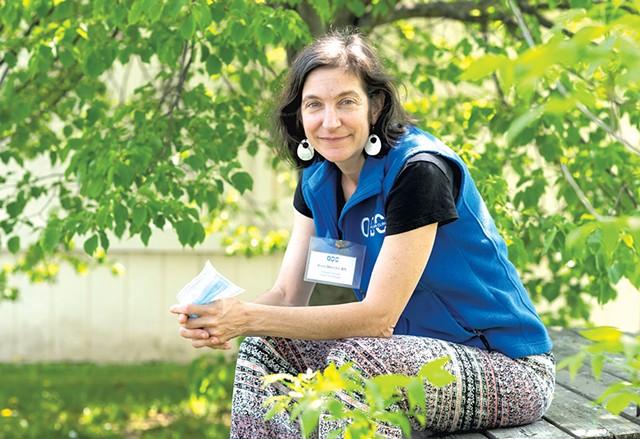 Julia DoucetOpen Door Clinic outreach nurse, Middlebury - CALEB KENNA