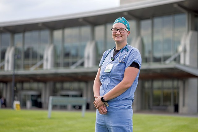 Cara Grogan, Respiratory therapist, University of Vermont  Medical Center, Burlington - OLIVER PARINI