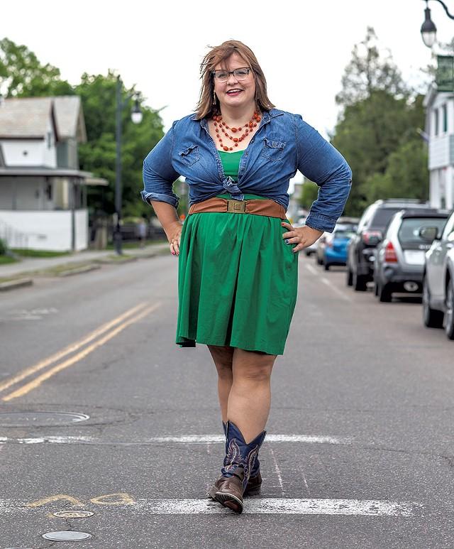 Mellisa Cain, Community organizer, Burlington - LUKE AWTRY