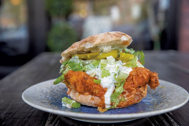Rough Francis chicken sandwich at Misery Loves Co. - FILE: JAMES BUCK