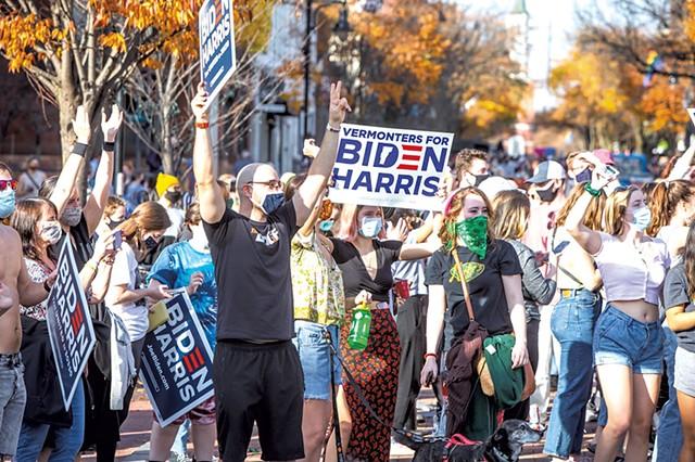 Biden celebration - FILE: LUKE AWTRY