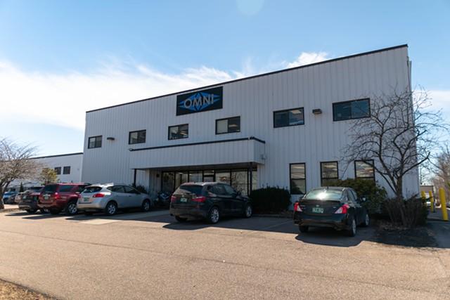 Omni Medical's building in Colchester - OMNI MEDICAL