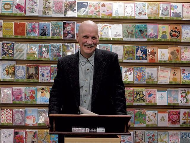 Leland Kinsey at Phoenix Books Rutland - COURTESY OF BIANCA ZANELLA