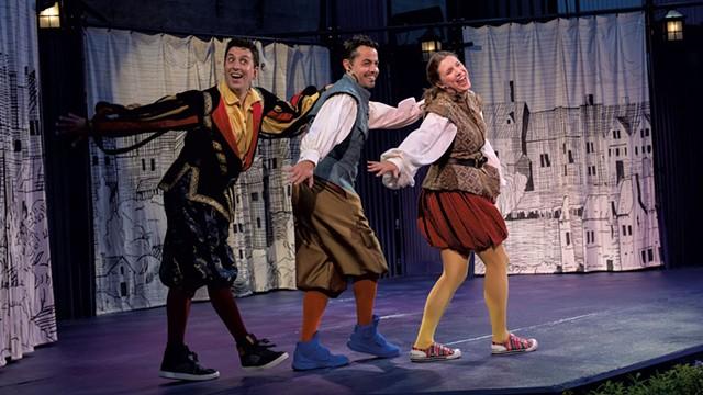 From left: Eric Love, Grayson DeJesus and Jenni Putney - COURTESY OF KATA SASVARI