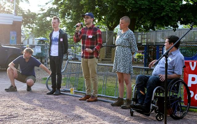 Ward 3 Progressive candidates - COURTNEY LAMDIN ©️ SEVEN DAYS