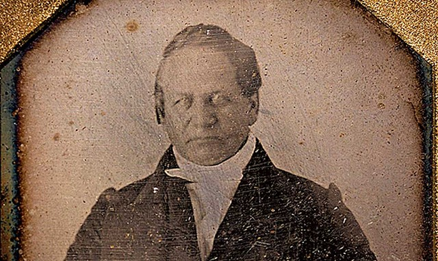 A photograph of Alexander Twilight - COURTESY OF OLD STONE HOUSE MUSEUM
