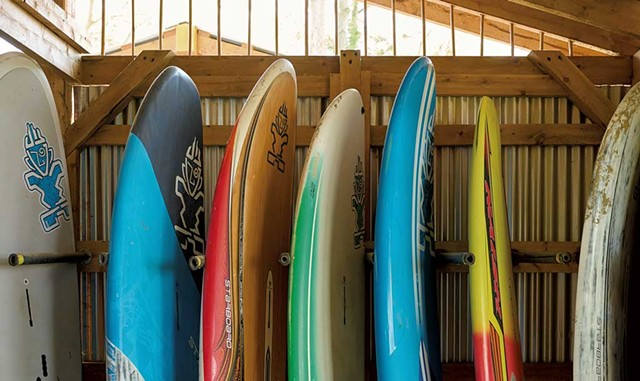 Paddleboard storage - BEAR CIERI