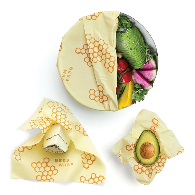 Assorted Bee's Wrap wraps - COURTESY OF BEE'S WRAP