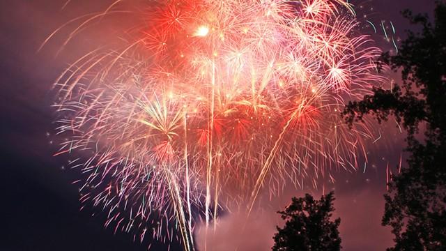 Fireworks - COURTESY OF CITY OF BURLINGTON PARKS, RECREATION & WATERFRONT