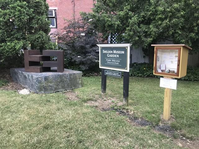 Garden entrance to the Henry Sheldon Museum - SALLY POLLAK ©️ SEVEN DAYS