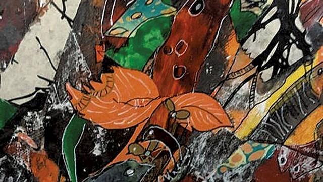 """Impermanence"" by Mary Fran Lloyd - COURTESY OF CHAFFEE ART CENTER"