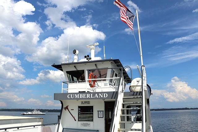 The Cumberland car ferry - KEVIN MCCALLUM ©️ SEVEN DAYS