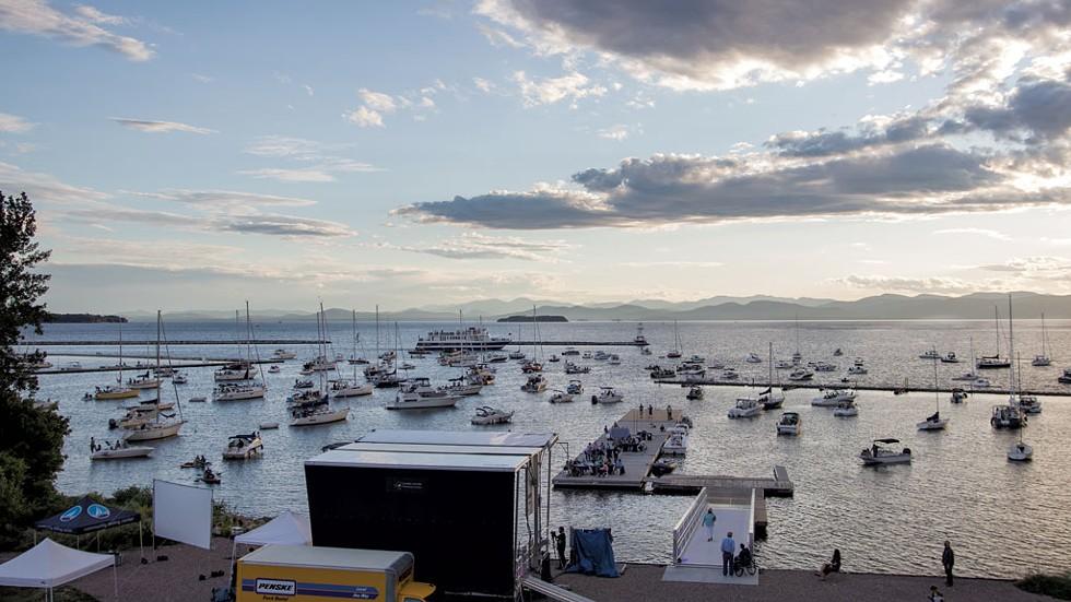 Flotilla Concert 2020 - COURTESY OF LAKE CHAMPLAIN COMMUNITY SAILING CENTER