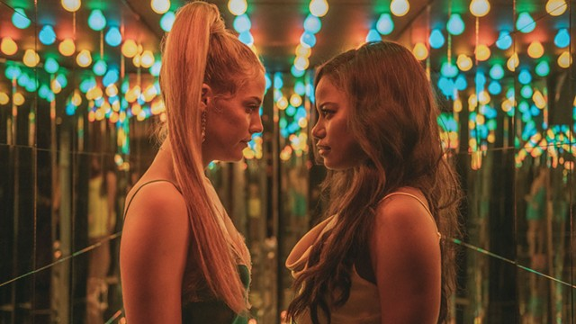 STRIPPING AND TRIPPING Keough and Paige play BFFs whose friendship won't survive a wild road trip in Bravo's indie. - COURTESY OF ANNA KOORIS AND A24