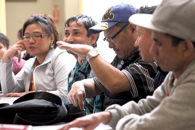 An ASL class for Vermont Bhutanese - MATTHEW THORSEN