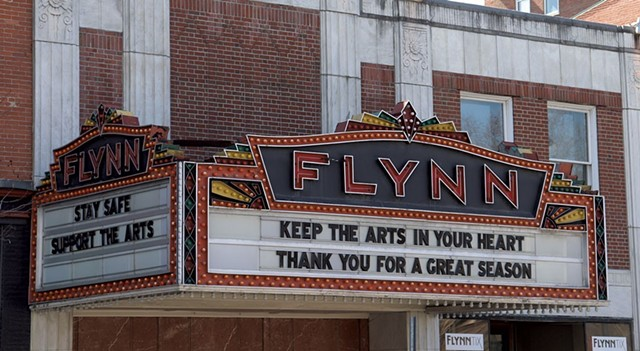 The Flynn marquee - FILE: MARGARET GRAYSON ©️ SEVEN DAYS