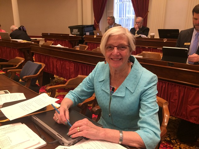 Rep. Ann Pugh (D-South Burlington) sponsored a bill on its way to becoming law that guarantees access to free birth control to women and men. - NANCY REMSEN