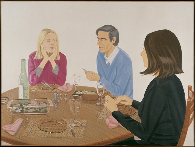 """Supper"" by Alex Katz - COURTESY OF HOOD MUSEUM OF ART"