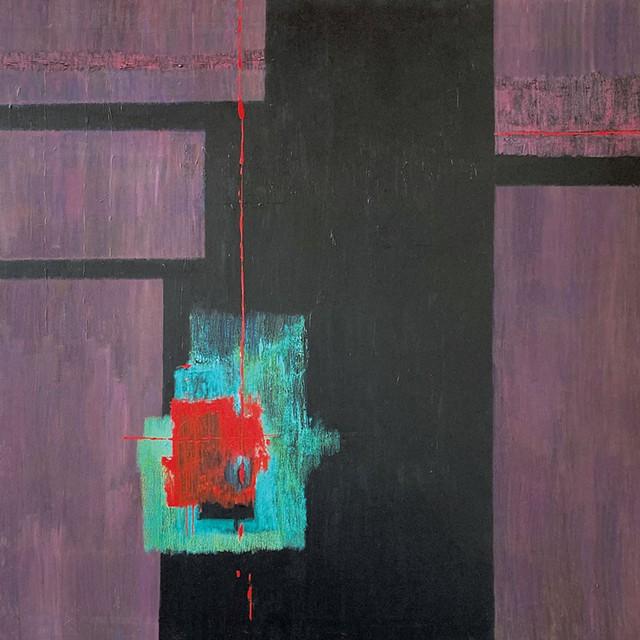 """Harbinger"" by Virginia Dehn - COURTESY OF BUNDY MODERN"