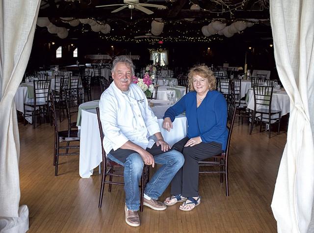 Lisa and Roland Gaujac at the Old Lantern - CALEB KENNA