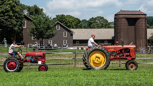 Antique Tractor Day - COURTESY OF BILLINGS FARM & MUSEUM