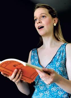 Mary Bonhag practicing - JEB WALLACE-BRODEUR