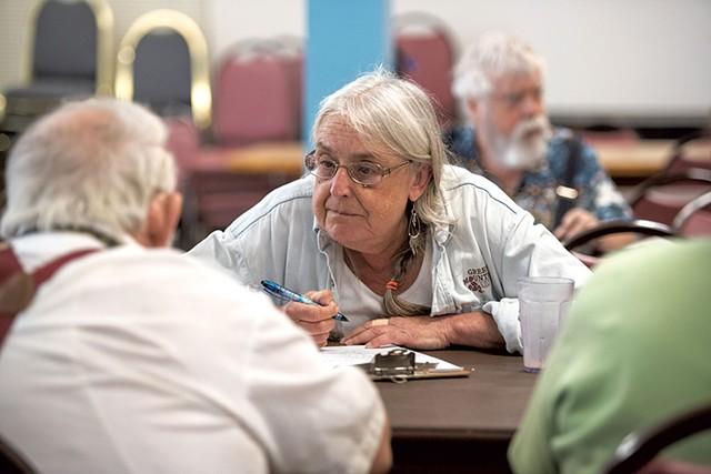 Waterbury Area Senior Center director Vicki Brooker - JEB WALLACE-BRODEUR