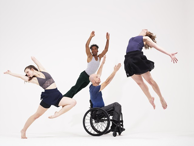NEA grantee AXIS Dance Company (through the Flynn) - COURTESY OF THE FLYNN CENTER