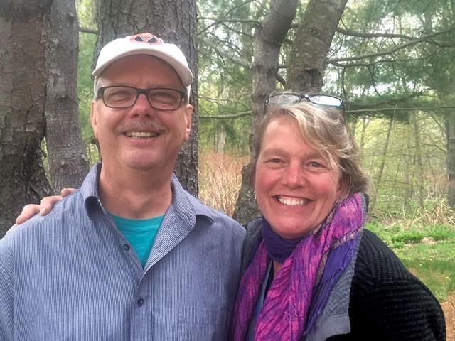 Ben and Sarah Wood - COURTESY OF BEN AND SARAH WOOD