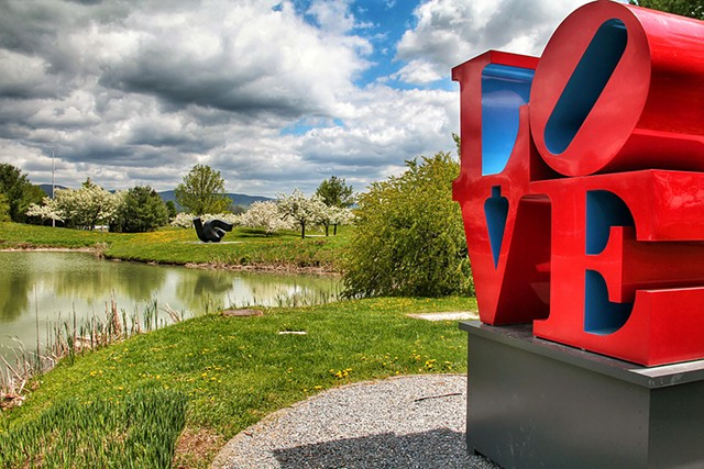 """""""Love"""" by Robert Indiana"""