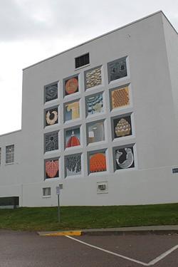 """""""Mural of Cosmic Geometry,"""" by Sabra Field"""