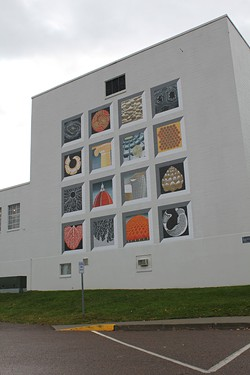 """Mural of Cosmic Geometry,"" by Sabra Field"