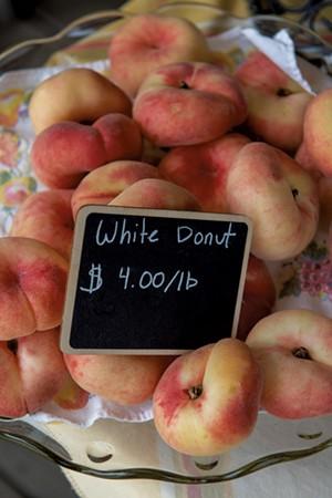Paradise Fruit peaches - CALEB KENNA