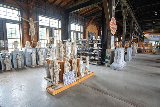 The Vermont Granite Museum in Barre - JEB WALLACE-BRODEUR