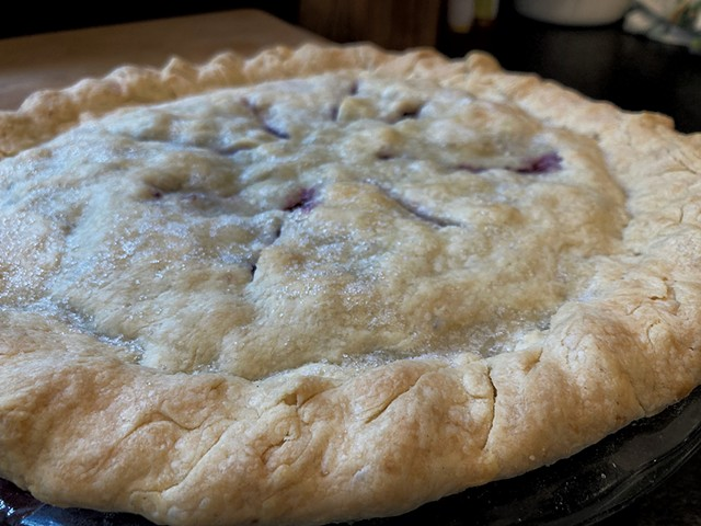 Blueberry pie - MARGARET GRAYSON