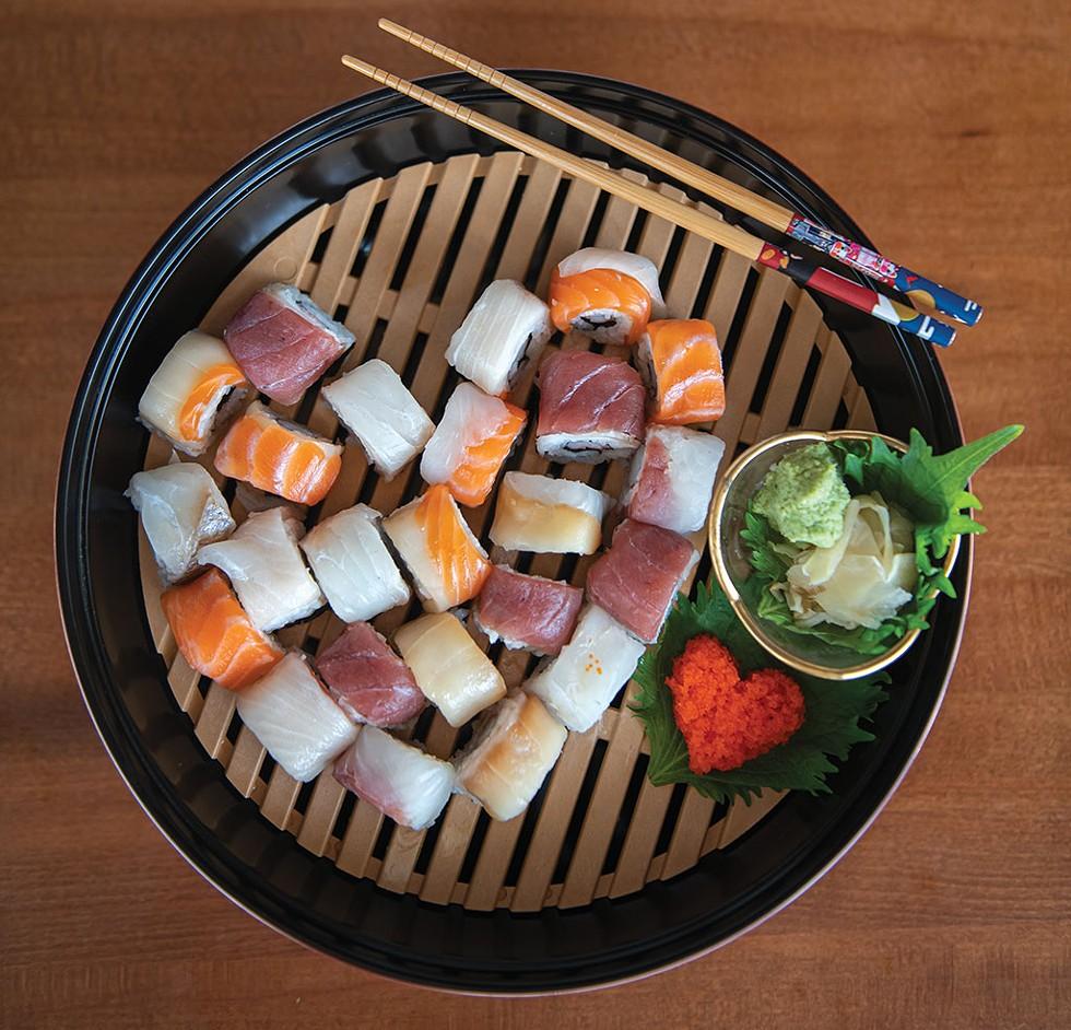 """Sushi made by - Kazutoshi """"Mike"""" Maeda - DARIA BISHOP"""
