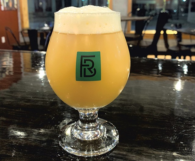 A full pour at Farm Road Brewing - COURTESY OF FARM ROAD BREWING