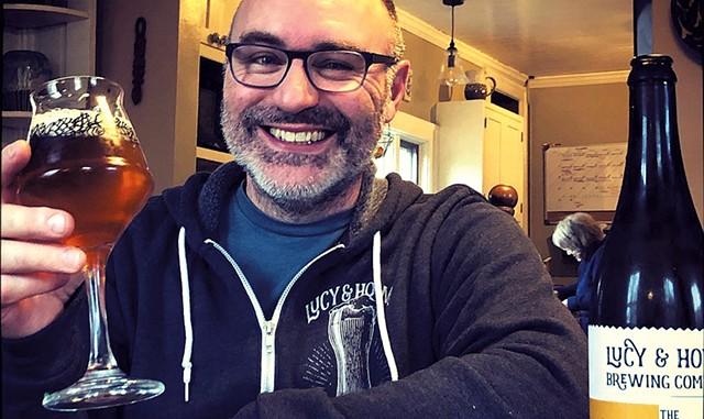 Jesse Cronin of Lucy & Howe Brewing - COURTESY OF JESSE CRONIN