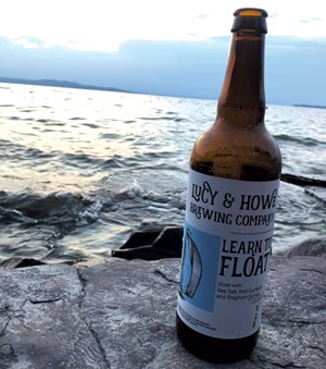A bottle of Learn to Float sour gose - JORDAN BARRY