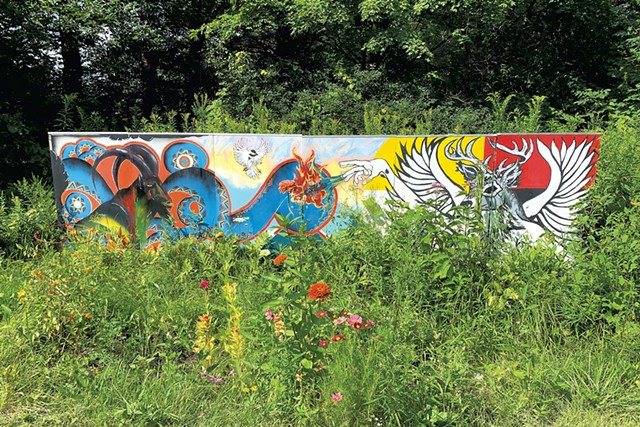 """""""Mobile Mural Project"""" by Meghan Rigali and Behulum Mengistu - AMY LILLY"""