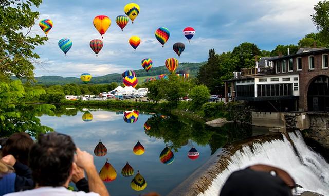 Quechee Hot Air Balloon Festival - COURTESY OF AMELIA CORDISCHI