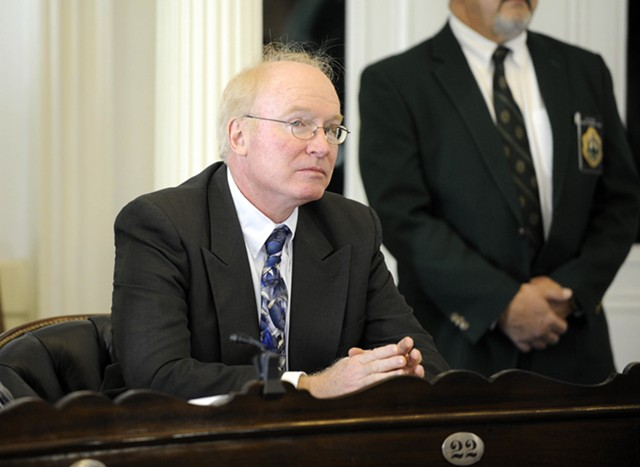 Kevin Mullin, chair of the Green Mountain Care Board - FILE: JEB WALLACE-BRODEUR