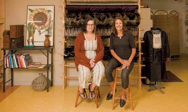 SeamWorks founders Rebecca McDonald and Karen Freeman - OLIVER PARINI