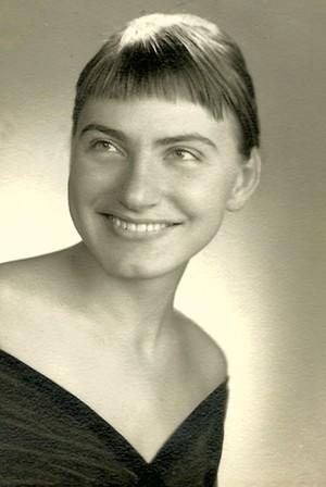 Elka Schumann's Bryn Mawr graduation picture - COURTESY