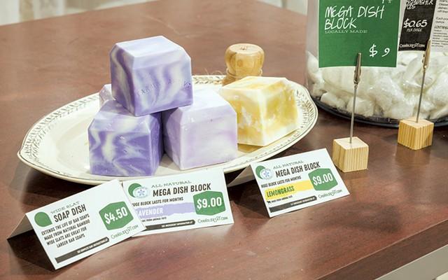 Dish soaps at Chandler's Dry Goods - OLIVER PARINI