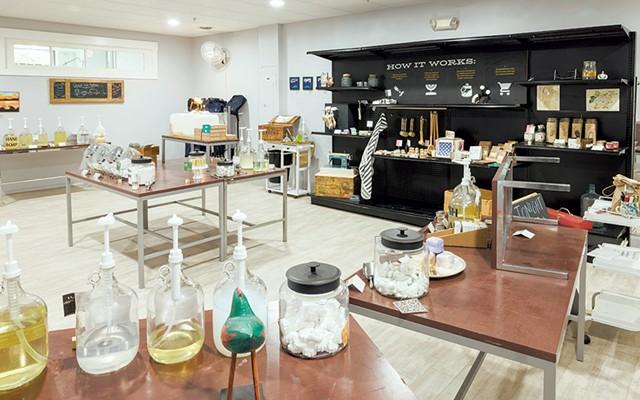 Showroom at Chandler's Dry Goods - OLIVER PARINI