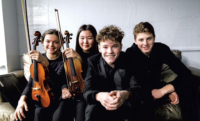Vermont Youth Orchestra Association musicians - COURTESY OF KEITH MACDONALD PHOTOGRAPHY