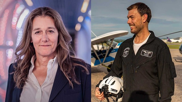 Martine Rothblatt and Kyle Clark - © ANDRE CHUNG / COURTESY OF BETA