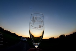 Above Reality Champagne toast - STEPHEN MEASE